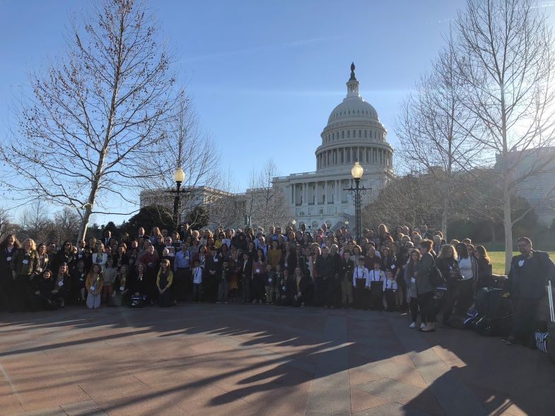 Action Days 2019 in front of U.S. Capitol