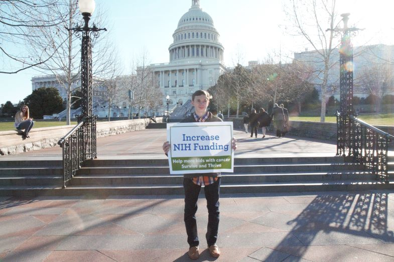 Action Days 2019 advocating for NIH funding increases
