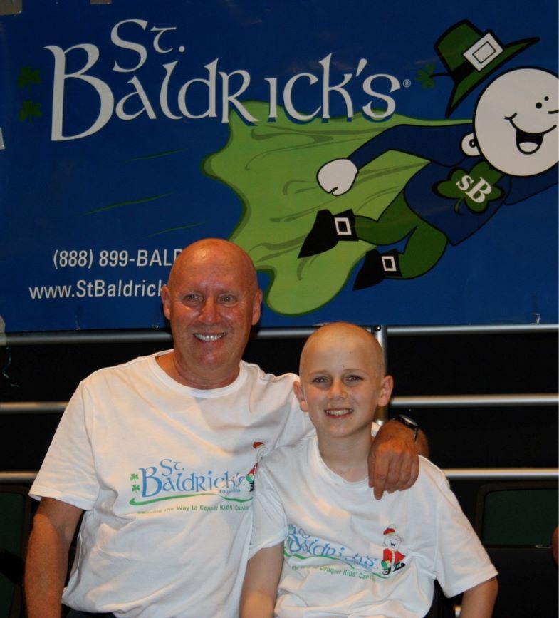 Richard & Sean, both bald