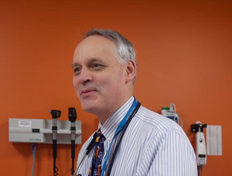 Headshot of Dr. Doug Hawkins