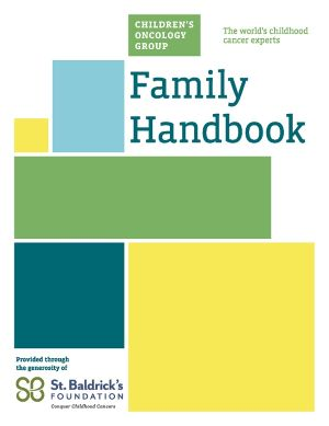 image of Family Handbook Cover